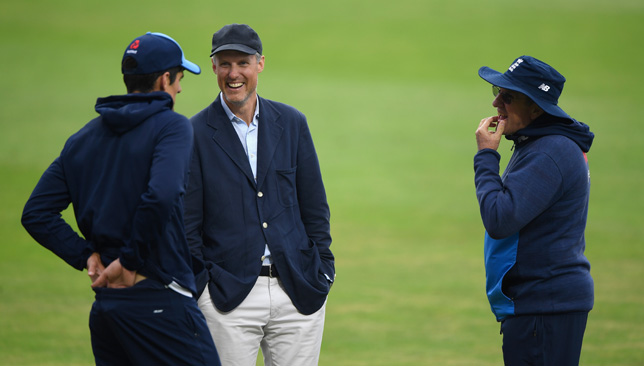 England national selector Ed Smith (c) hopes to work with Alastair Cook again