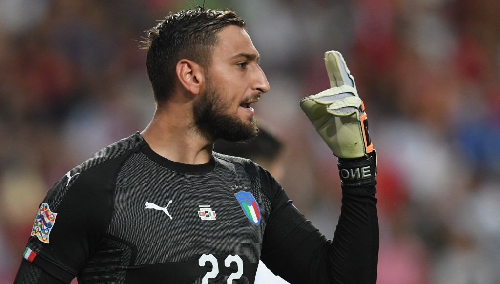 Gianluigi Donnarumma was a busy man for Italy.