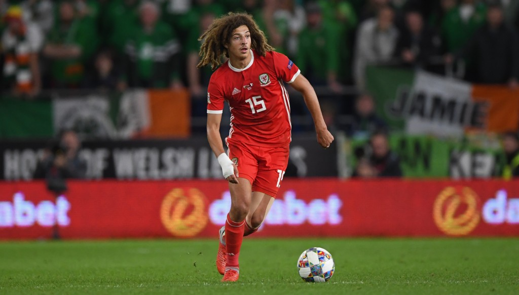 Ampadu's impressive performance belied the fact he is only 17.