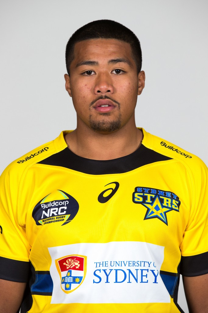Fainga'a pictured in the Sydney Stars squad in 2014 when he was just 19.j
