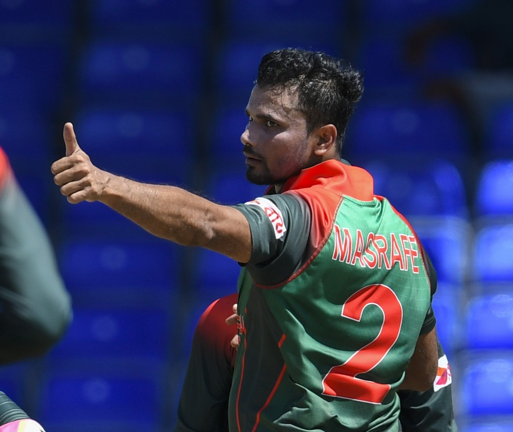 Captain Inspirational: Mashrafe Mortaza.