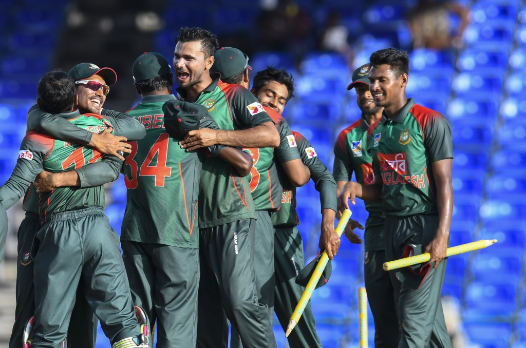 All raring to go: The Bangladesh Tigers.
