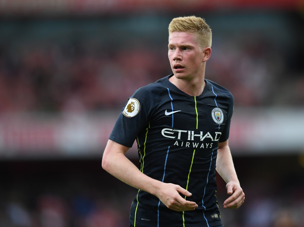 Injured Kevin De Bruyne was missed by Manchester City.