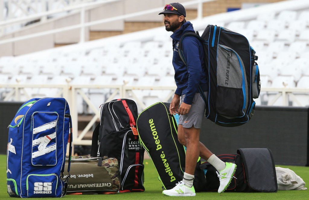 Murali Vijay was dropped from the squad for the final two Tests.