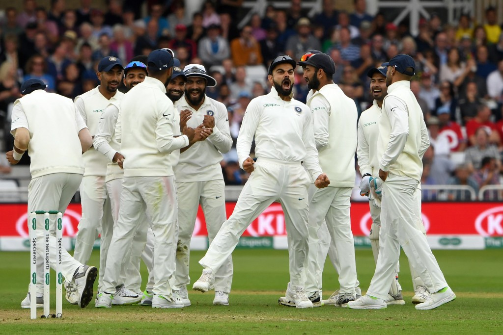 Kohli's men were guilty of letting the advantage slip many times.