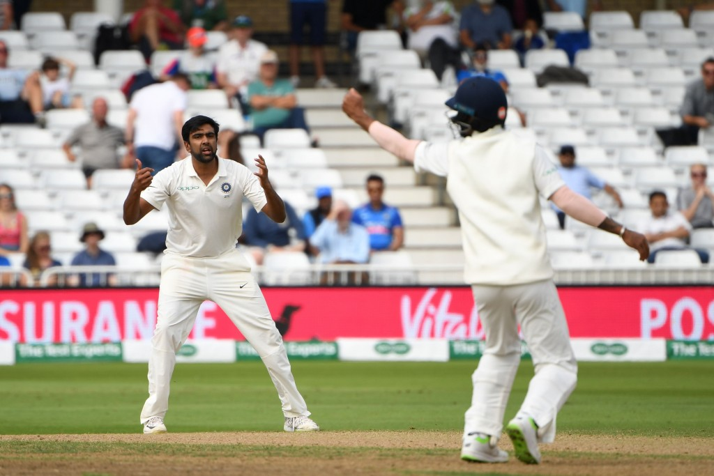 Just the one wicket for Ashwin for all his toil.