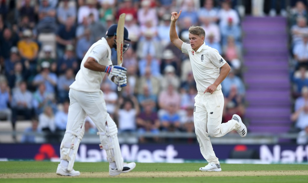Sam Curran dismissed Kohli in the first innings at Southampton.
