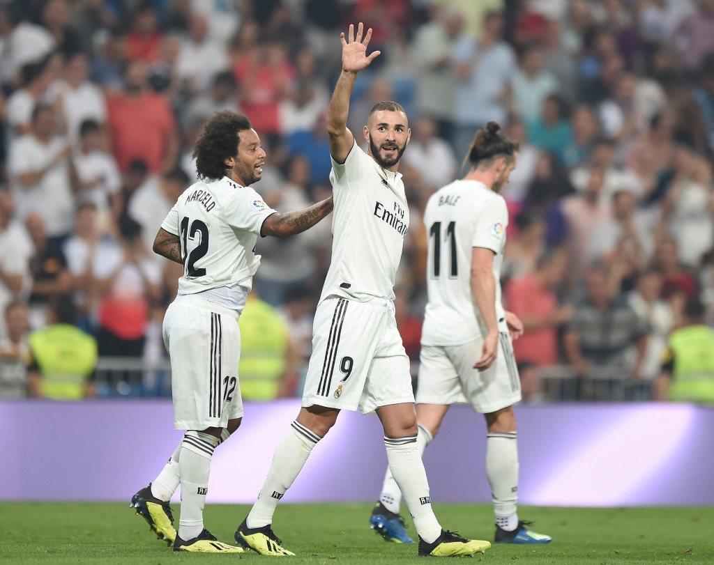 Benzema had scored twice in Madrid's win over Leganes.