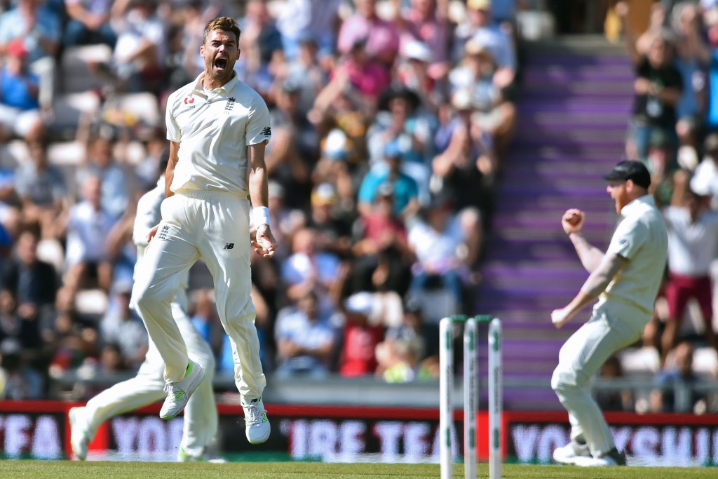 Anderson struck two huge blows for England early on day four.