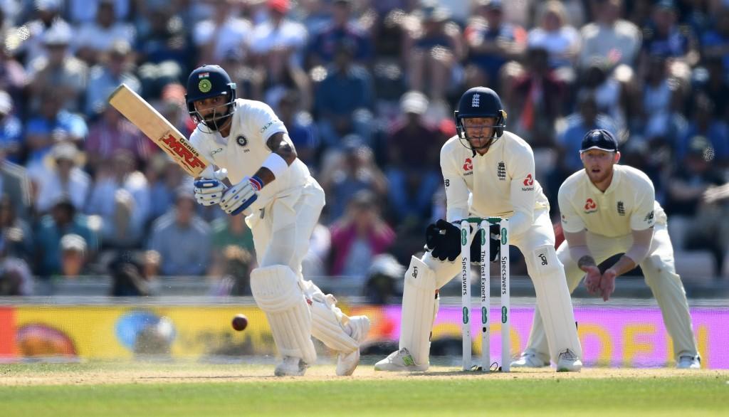 Kohli went past 500 runs in the series.