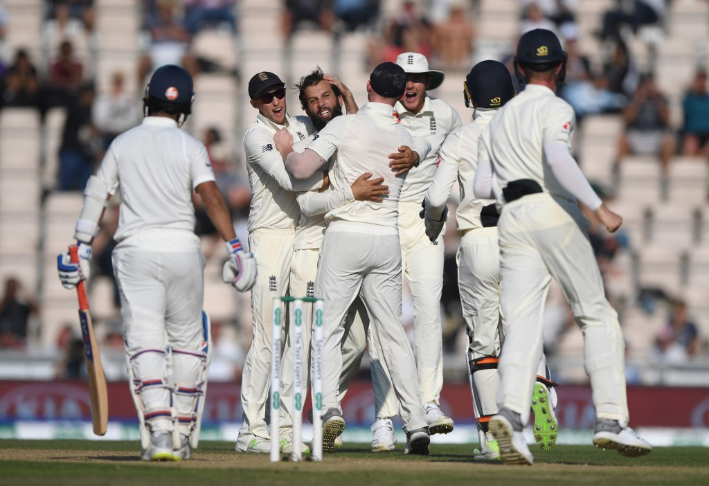 India's batting collapsed after Kohli's dismissal in the second innings.