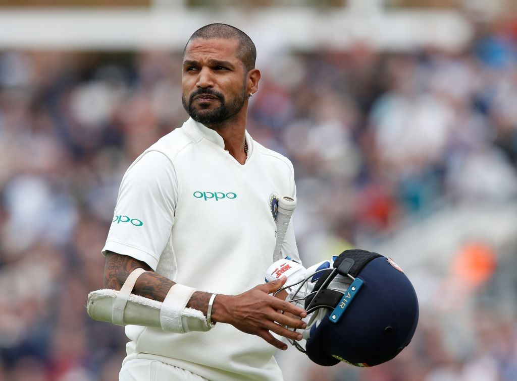Failure after failure for Dhawan.