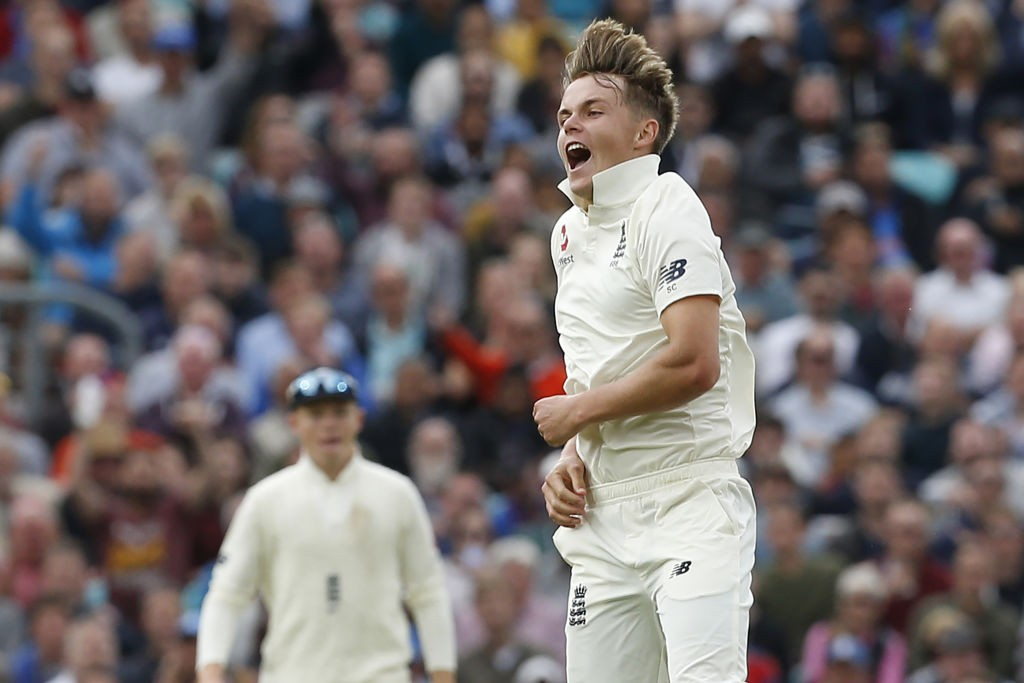 The find of the series: Sam Curran.