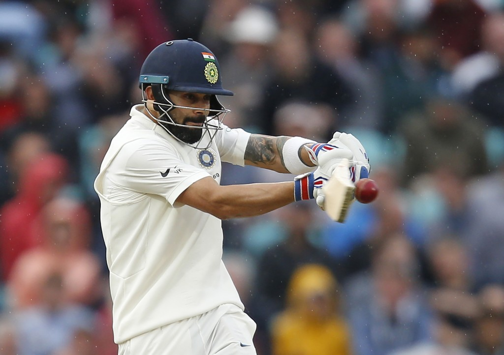 Kohli finished as the series' top-scorer with 593 runs.