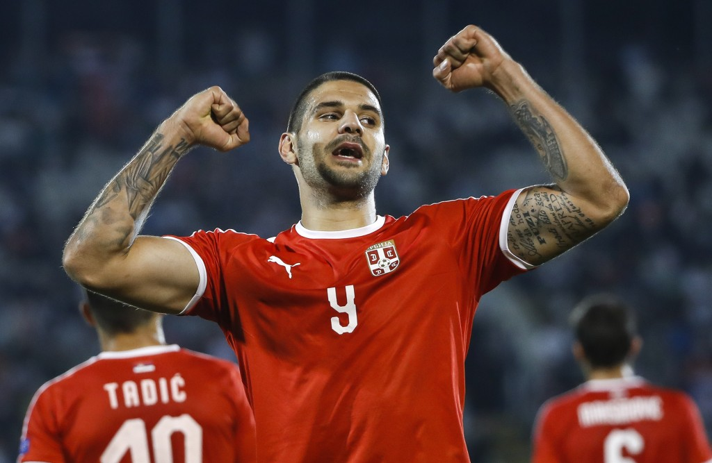 Aleksandar Mitrovic's fine form for Serbia continued during the international break