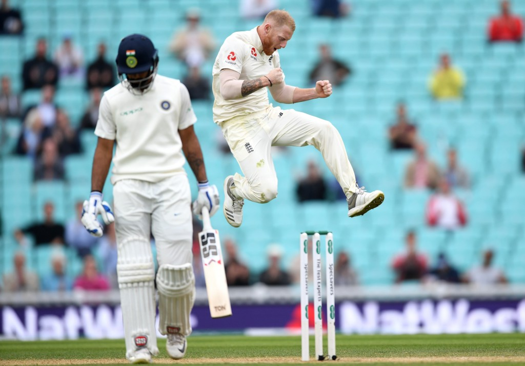 Stokes recently starred in England's 4-1 series win over India.
