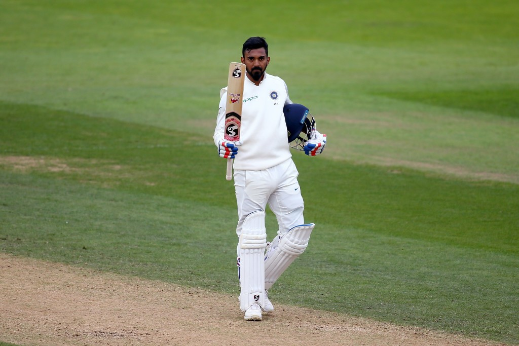 A return to form finally: KL Rahul.