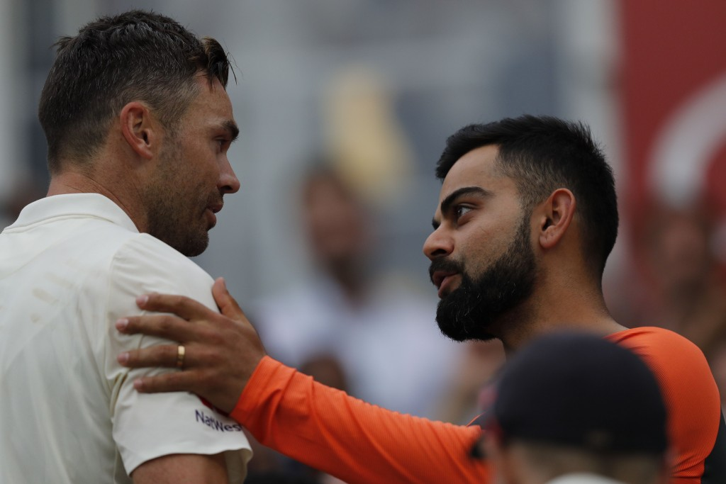Virat Kohli too paid tribute to Anderson.