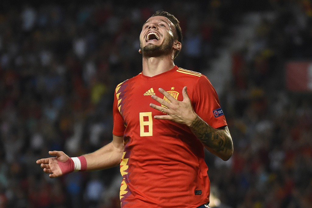 Saul scored for Spain in their wins against England and Croatia