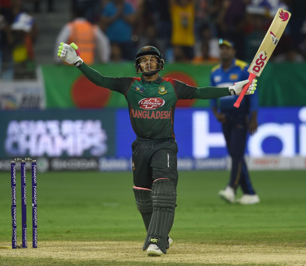 Mushifiqur is among only two Bangladesh players who have been rested.