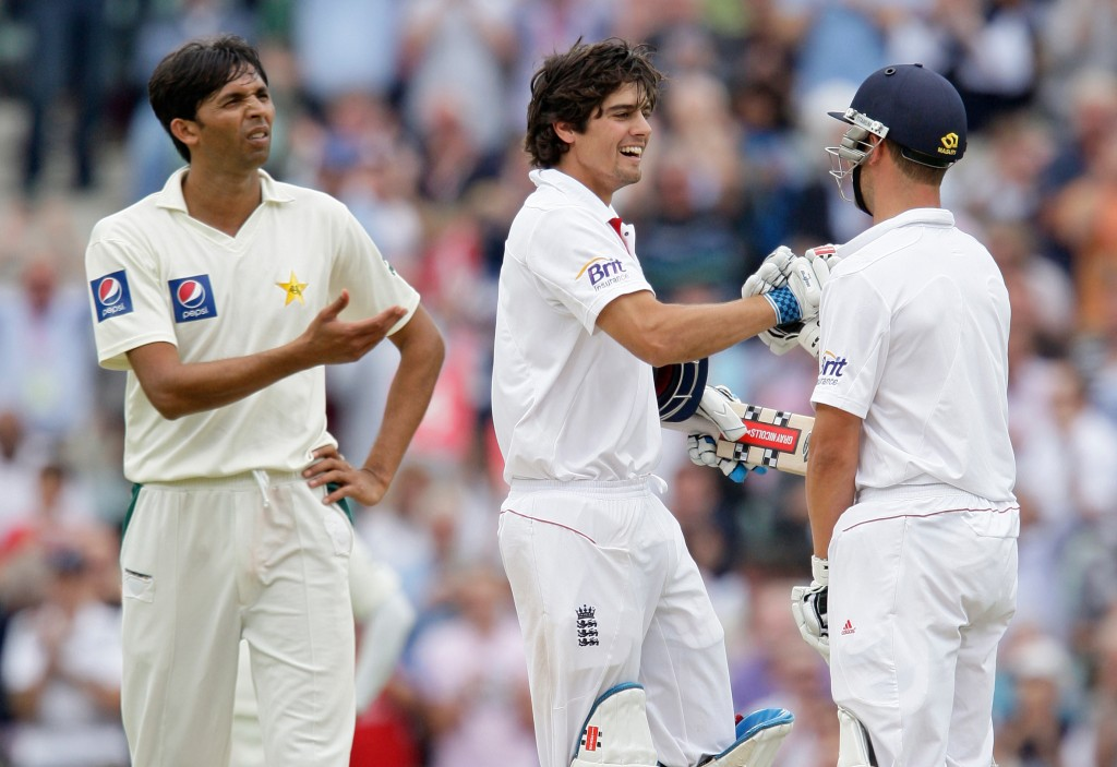 Cook showed his mental fortitude with a gritty knock.