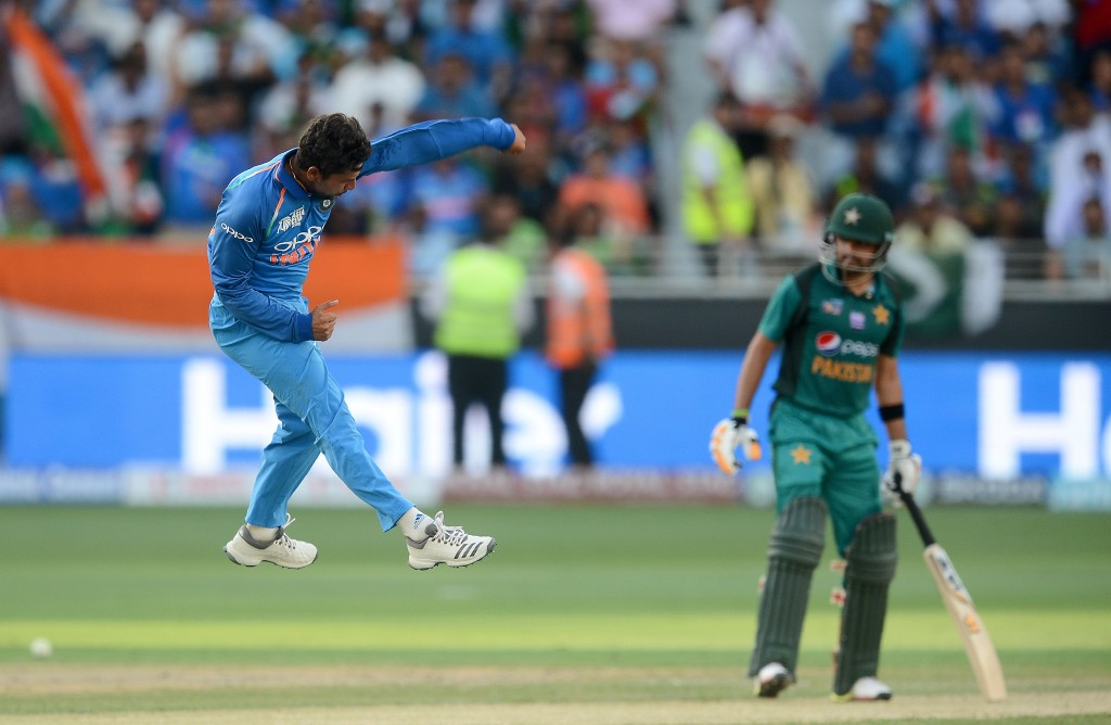 Impressive once again: Kuldeep Yadav.