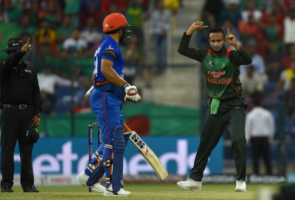 Shakib Al Hasan was excellent with the ball for the Tigers.