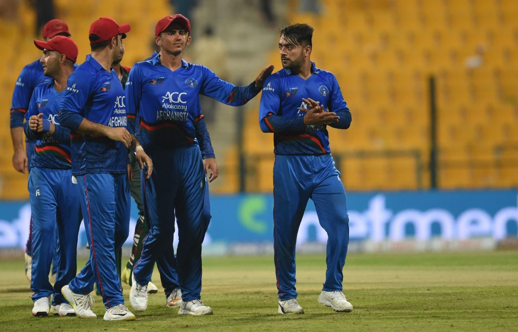 Rashid Khan and Mujeeb have been excellent with the ball.