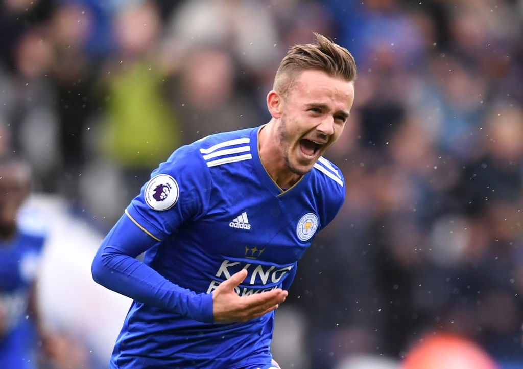 James Maddison has been linked with a move to Old Trafford.