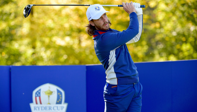 Fleetwood shone on his Ryder Cup bow.