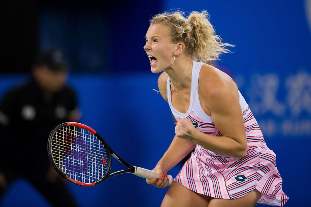 True grit: Katerina Siniakova.
