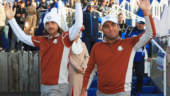 The team of Tommy Fleetwood and Francesco Molinari were electric over the weekend.