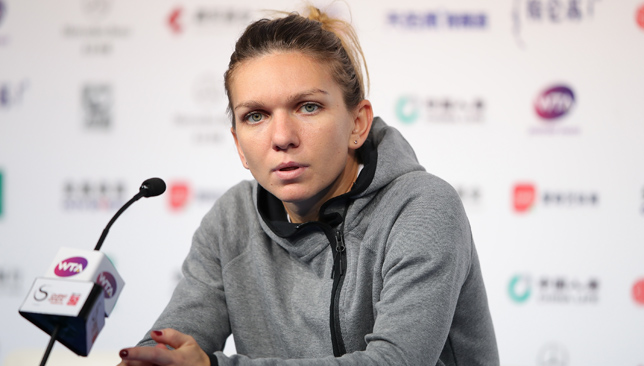 Injury halts World No1 Simona Halep