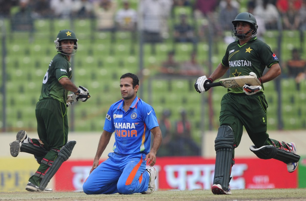 Jamshed and Hafeez had India on their knees with their opening stand.