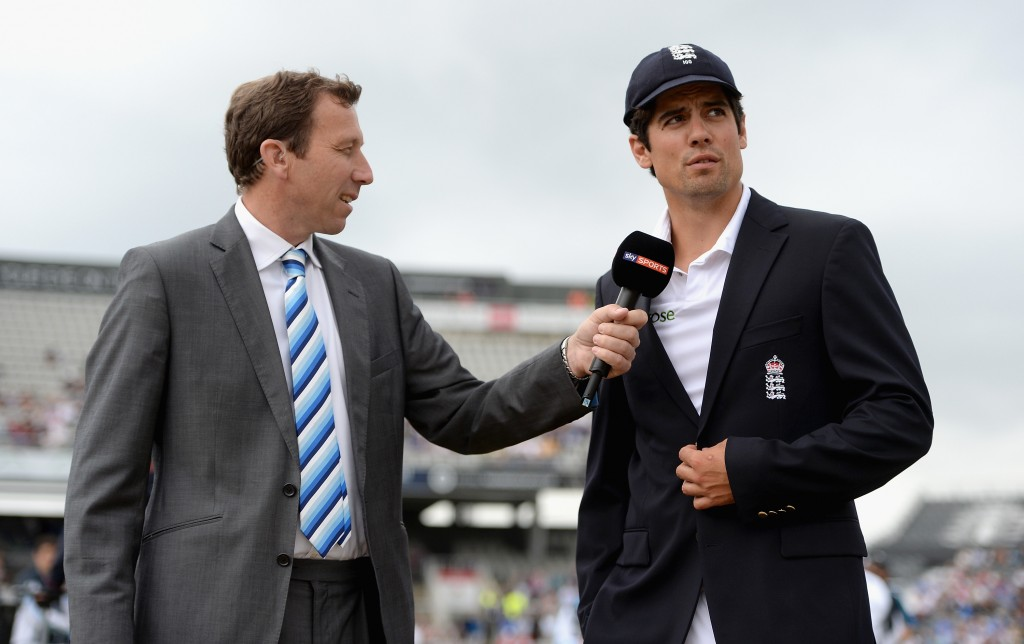 Cook could follow in Mike Atherton's footsteps.