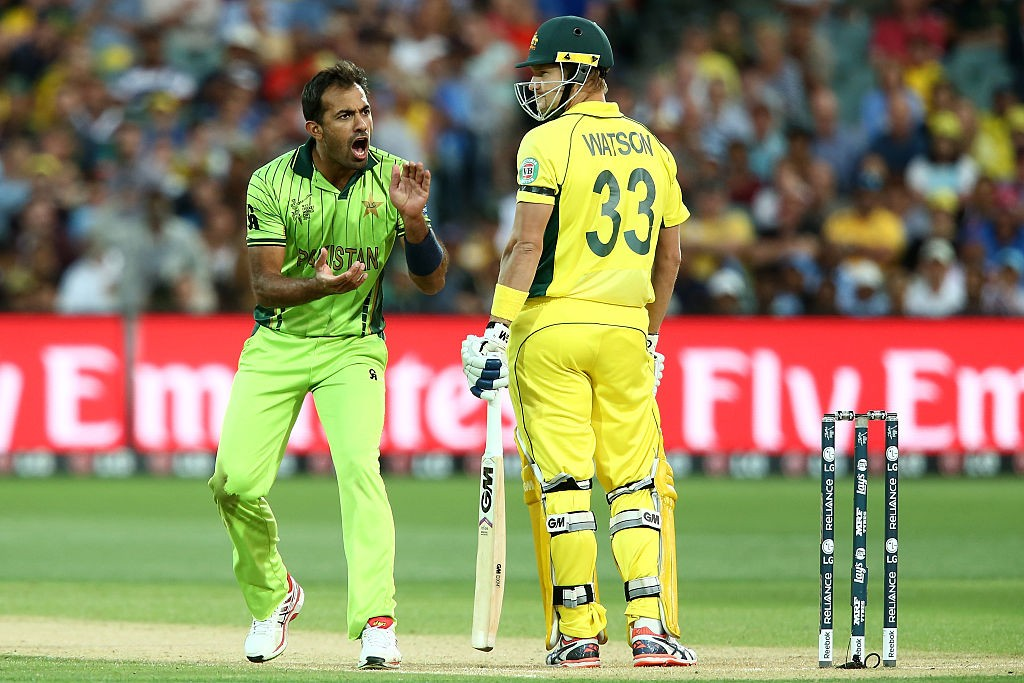 Wahab's fiery spell to Watson was a treat to watch for cricket fans.