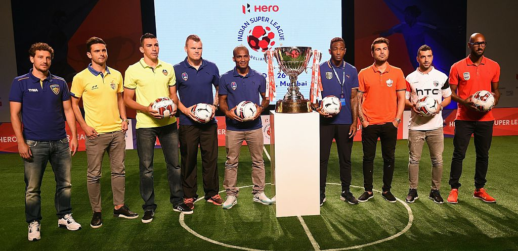 Star studded: ISL stars in season two.