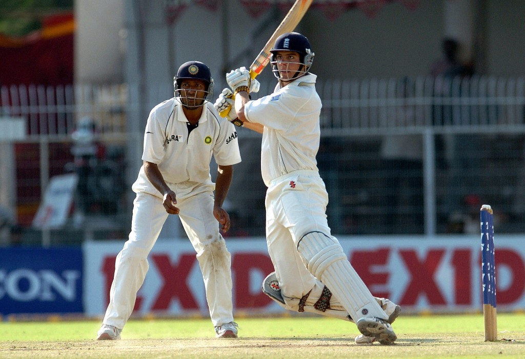 Cook stood tall for England in the second innings.