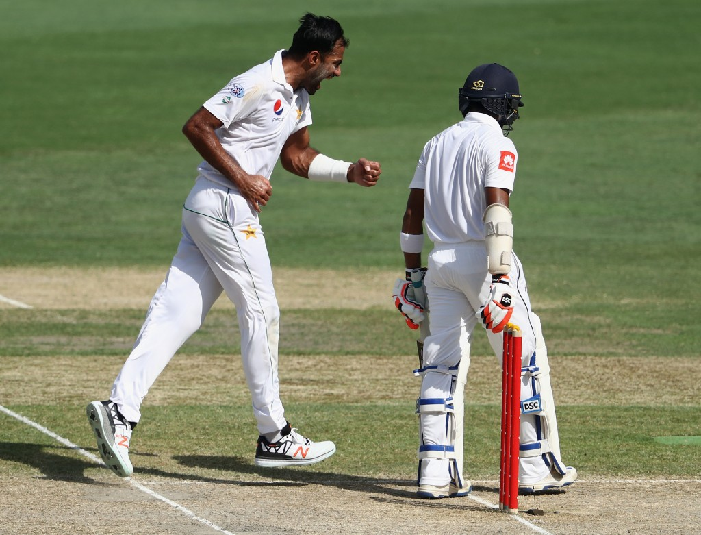 Wahab had picked a five-wicket haul in his last Test for Pakistan.