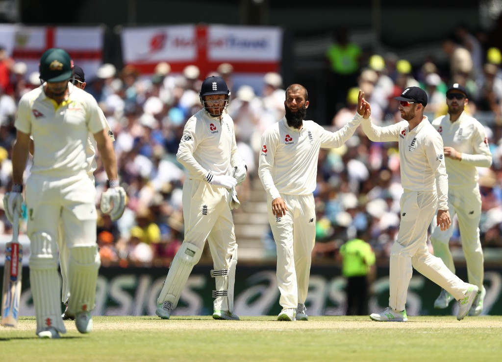 Moeen claims the incident happened in the 2015 Ashes series.