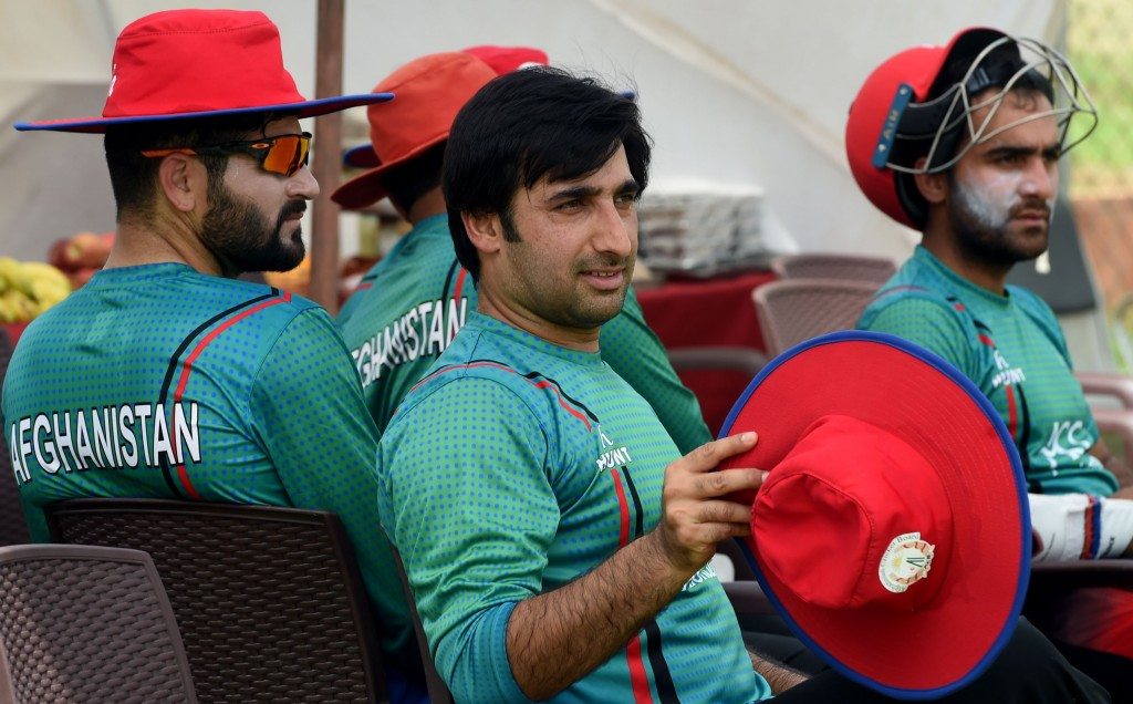 Afghan and his men are ready for Sri Lanka.