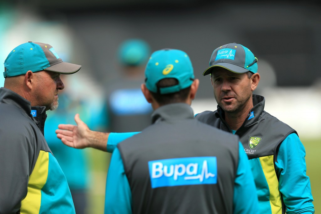 Ponting had assisted Langer during Australia's tour of England.