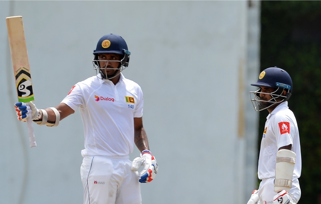 Gunathilaka (l) has had disciplinary issues in the past too.