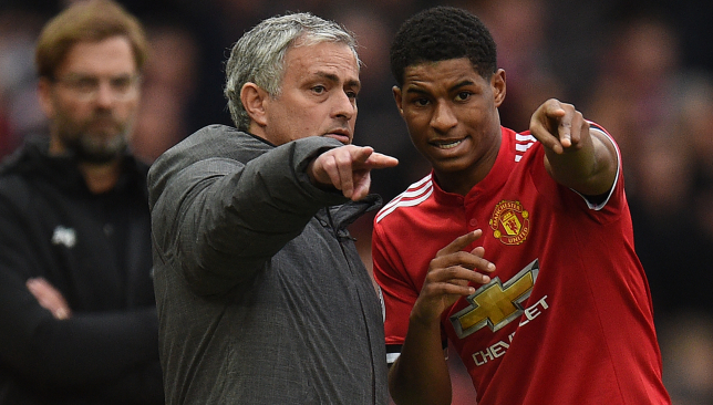 Jose Mourinho must show more faith in Rashford.