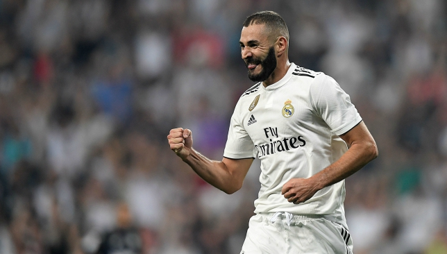 Benzema has come in for some praise from the Real Madrid head coach.