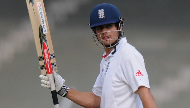 Cook set up a historic series win in India with his 190.
