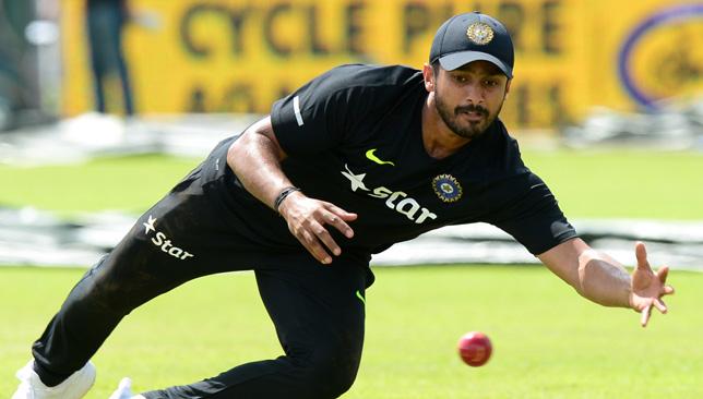 Indian batsman Karun Nair.