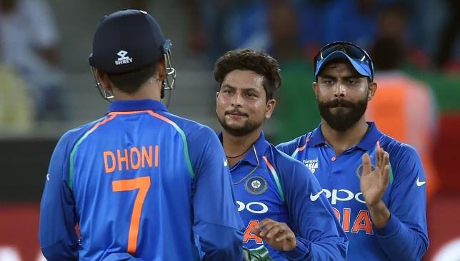 Kuldeep Yadav picked up three wickets.