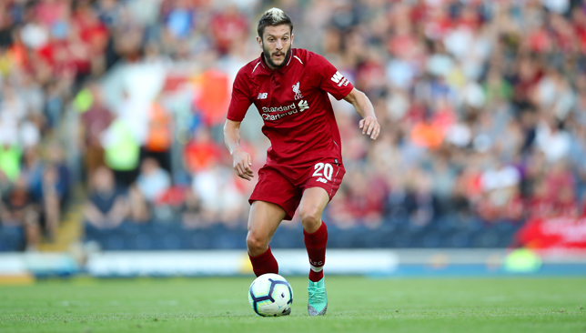Missing again: Adam Lallana