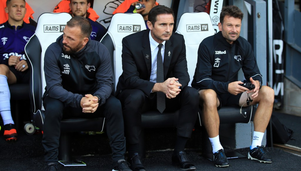 Lampard is looking to lead Derby back into the Premier League.